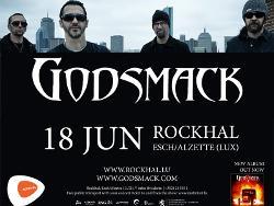 GODSMACK - Tickets in der Rockhal gewinnen!
