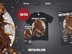 IMPERICON FESTIVALS - Ticket + Shirt gewinnen!