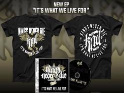 KINGS NEVER DIE - offizielles Merchandise zu gewinnen