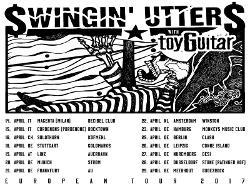 SWINGIN UTTERS & TOYGUITAR - Tickets zur Europatour zu gewinnen!